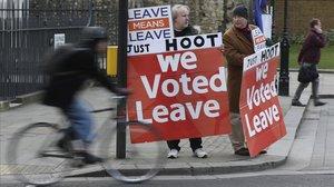 Les protestes britàniques importen la revolta dels 'armilles grogues'
