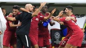 La alegría catarítras conseguir la goleada en las semifinales de la Copa Asia.