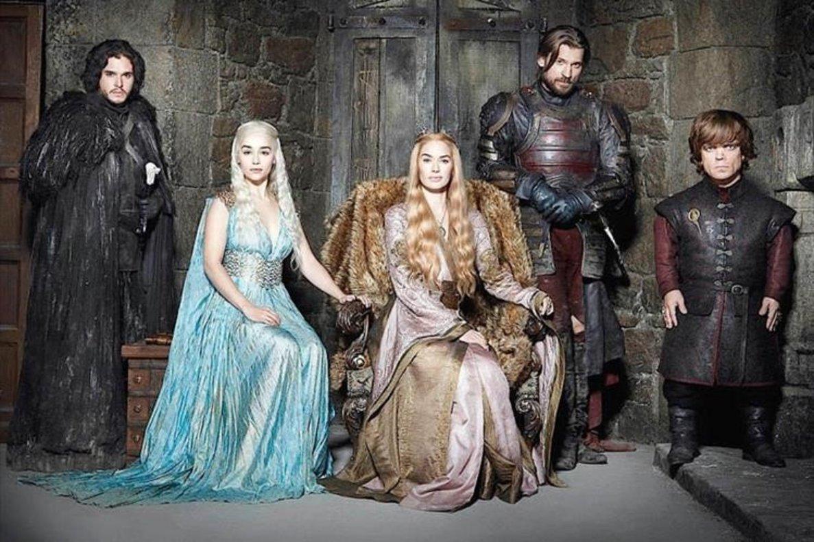¿On podràs veure els actors de 'Joc de trons'?