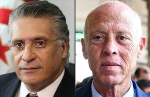 Un jurista i un magnat a la presó es disputen la presidència de Tunísia