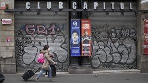 Un homenatge virtual acomiada el Club Capitol