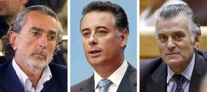 Correa, Bárcenas y López Viejo
