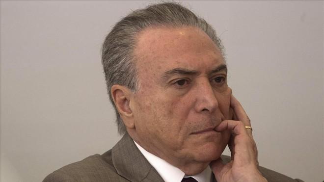 El presidente de Brasil Michel Temer no sería investigado por el caso Odebrecht