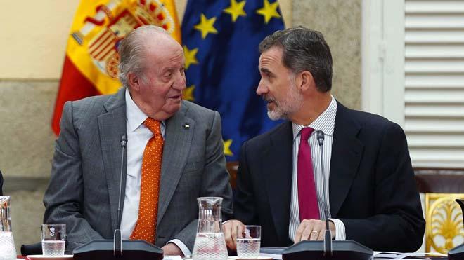 El rei Joan Carles I abandonarà totalment la vida pública el 2 de juny