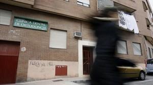 Edificiode Alcobendasdonde se cometió el crimen.