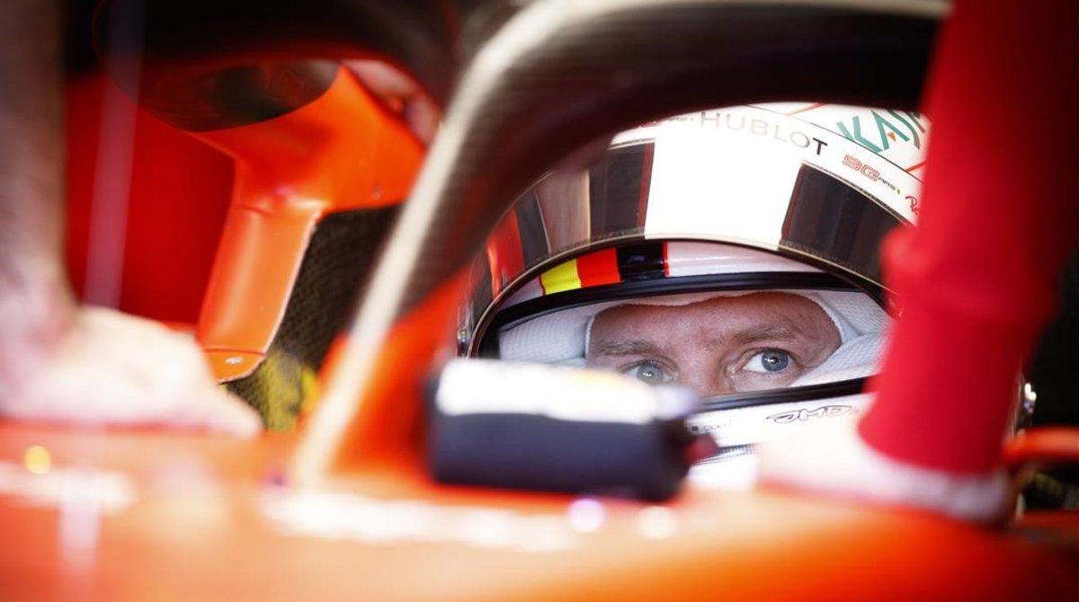 El alemán Sebastian Vettel y su Ferrari liderarán mañana, en Montreal, la parrilla de salida del GP de Canadá.