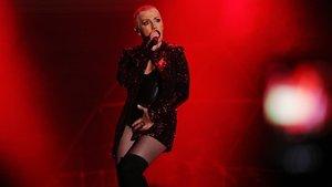 Ana Torroja en el concierto de la gira Yo fui a EGB.