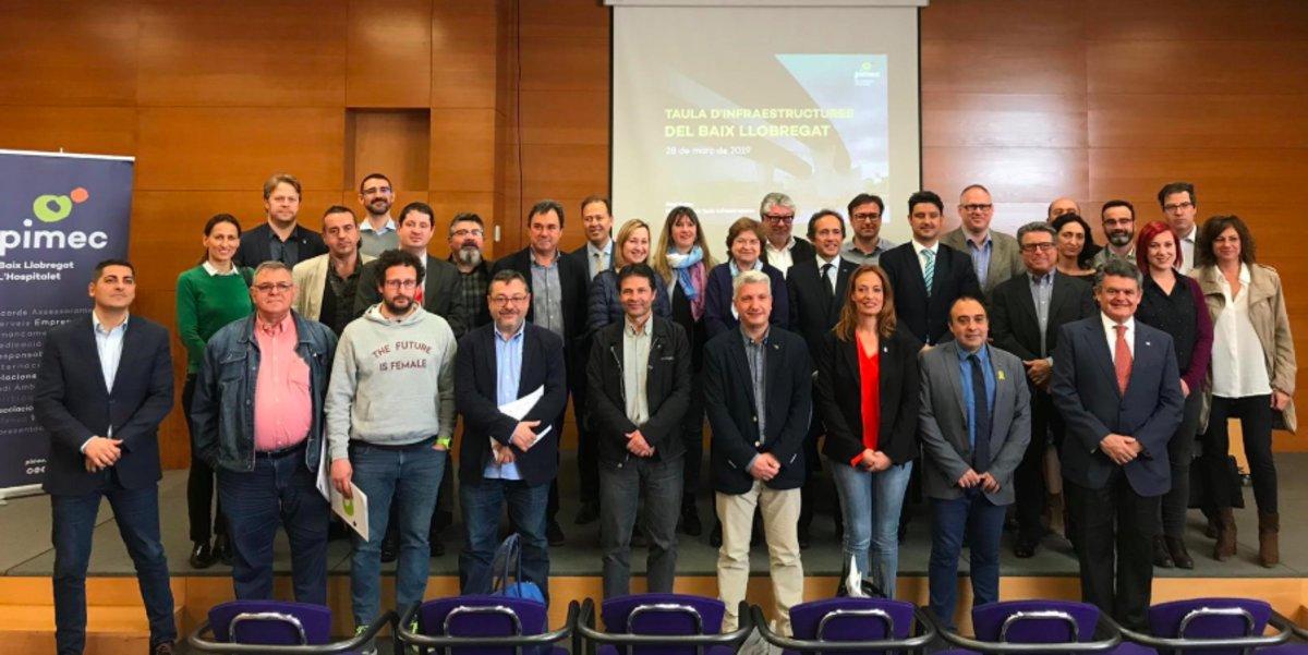 Constituïda la Mesa d'Infraestructures del Baix Llobregat i l'Hospitalet