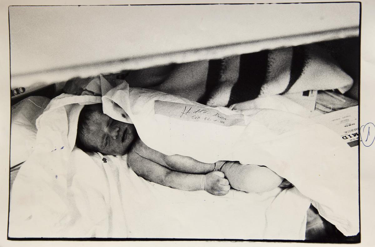 La bebé muerta que destapó el negocio de niños robados en la clínica San Ramón de Madrid.