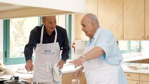 Bertín Osborne, con José Luis Moreno, en Mi casa es la tuya.