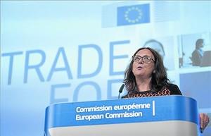 Cecilia Malmström, comisaria europea de Comercio.