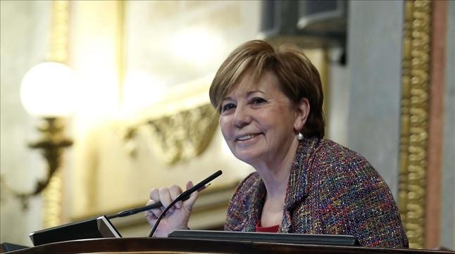Celia Villalobos, presidenta de la Comisión del Pacto de Toledo.