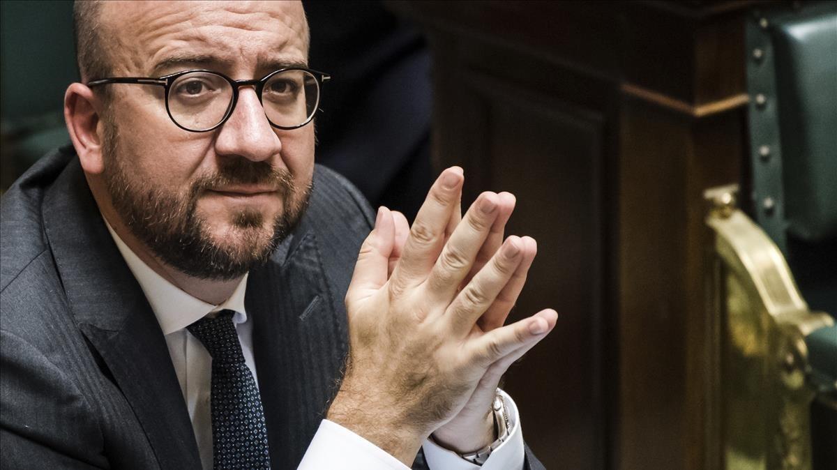 El primer ministro belga, Charles Michel.