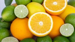 Frutos de la familia Citrus o cítricos.