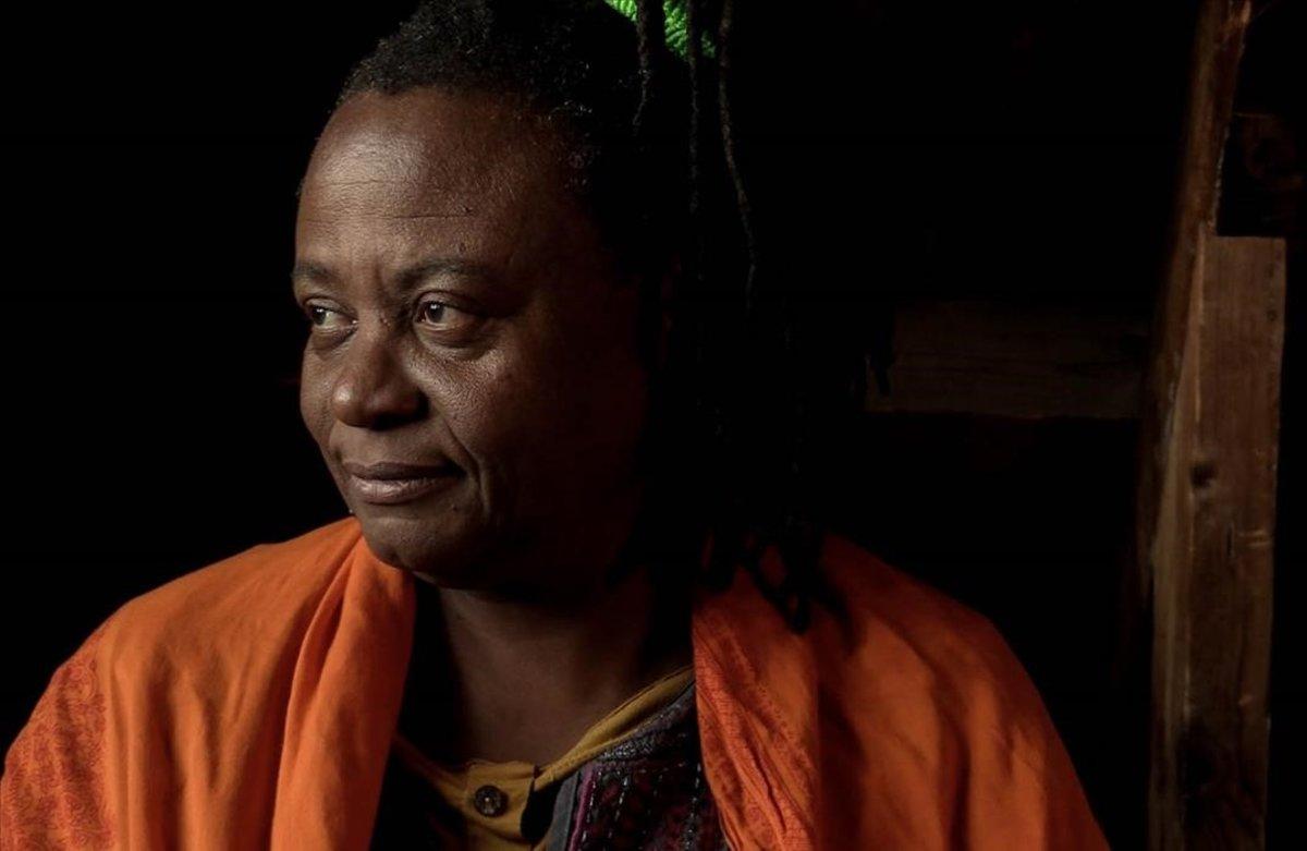 La coordinadora de la Organización Fraternal Negra Hondureña, Miriam Miranda.