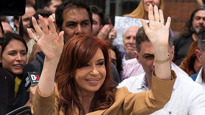 Cristina Fernández de Kirchner, processada.