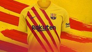 La cuarta equipación del Barça de la temporada 2019-2020