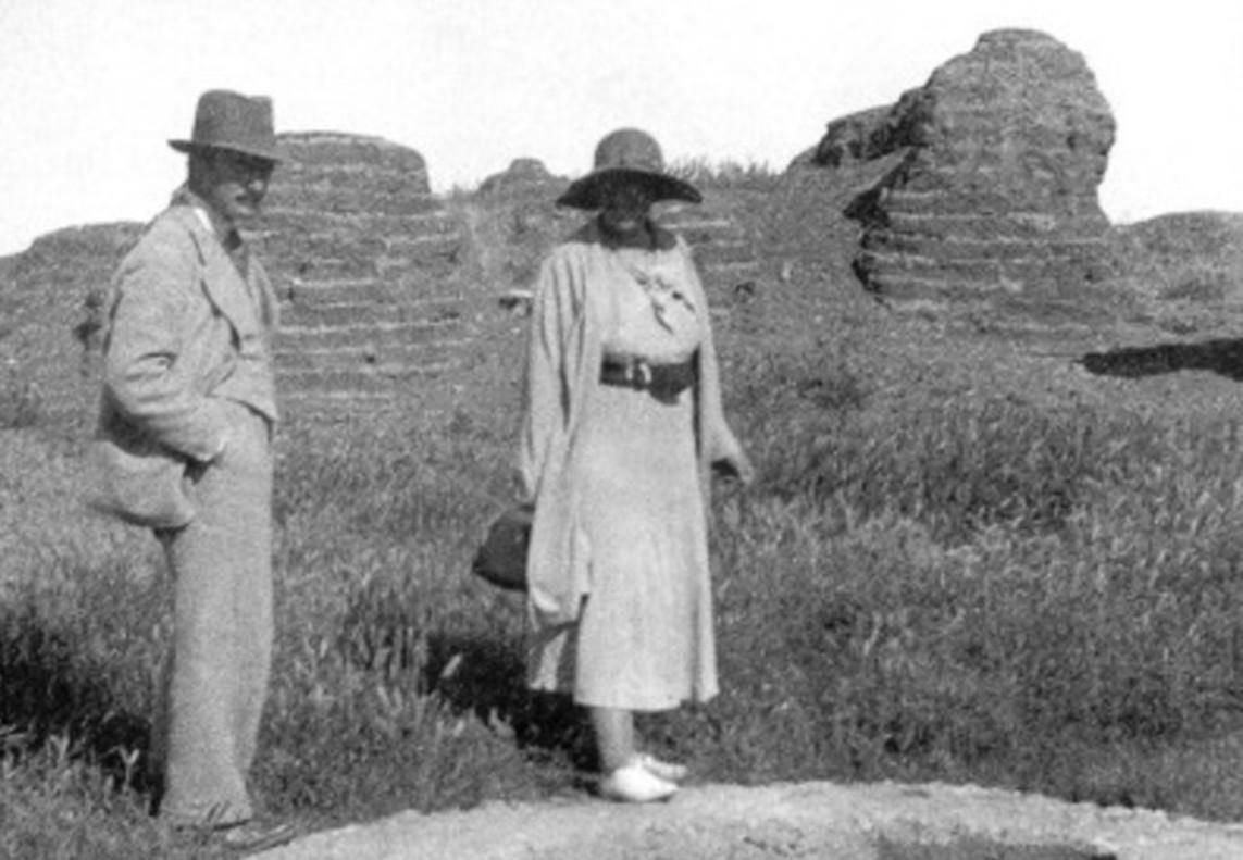 Agatha Christie y Max Mallowan, su segundo marido