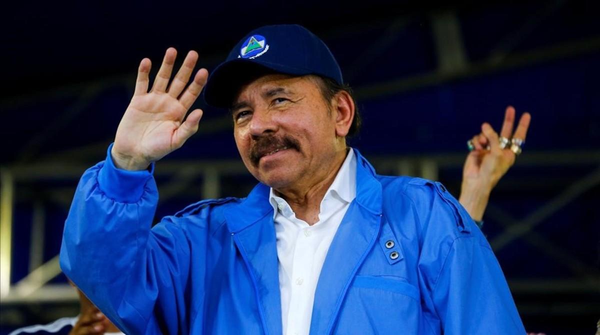 Daniel Ortega, presidente de Nicaragua en una imagen de archivo.