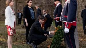 """Puigdemont cita la """"fermesa i la democràcia"""" com a inspiradors de les seves decisions"""