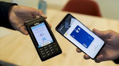 El pago con el móvil despega en España
