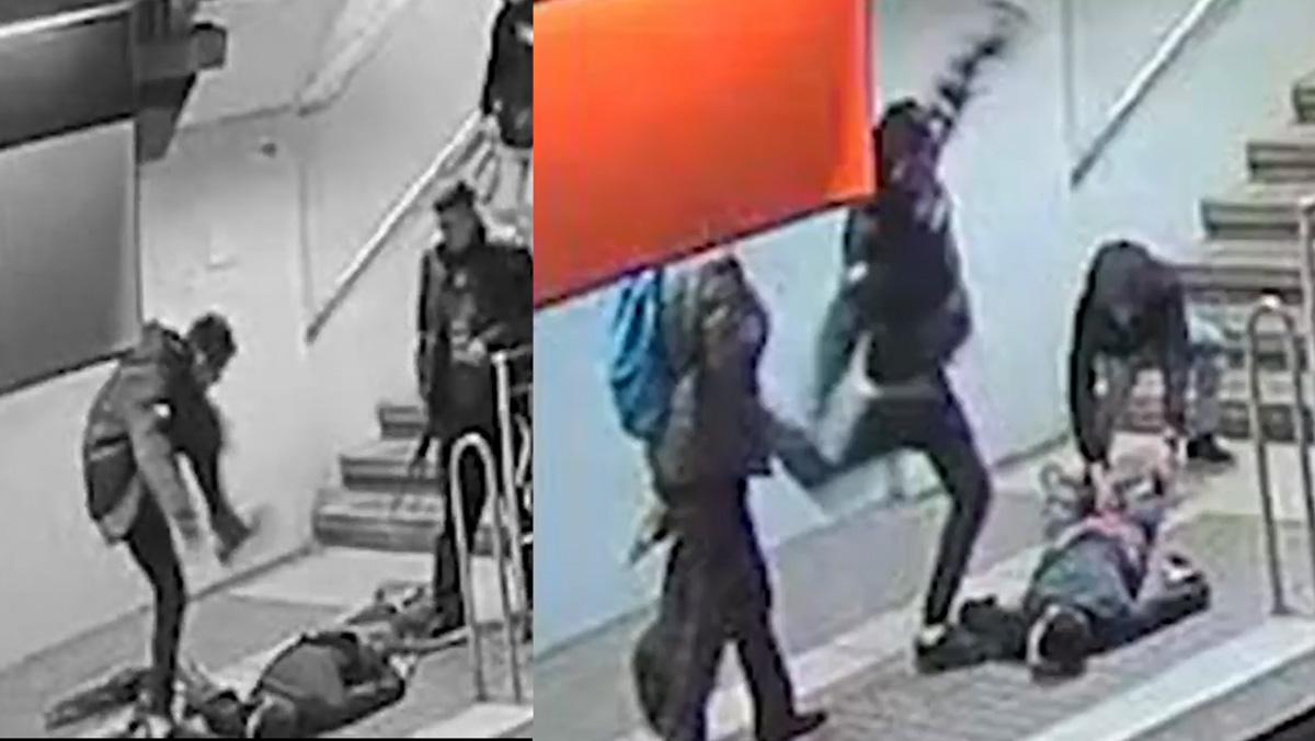 Detenido un joven por agredir brutalmente a otro en el metro de Barcelona