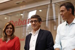 Susana Díaz y Pedro Sánchez convierten el debate de las primarias del PSOE en una batalla