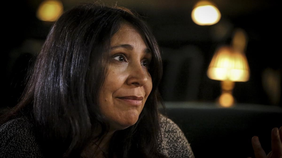 La director Haifaa Al-Mansour, fotografiada en Barcelona
