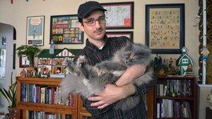 El dibujante Nick Drnaso.