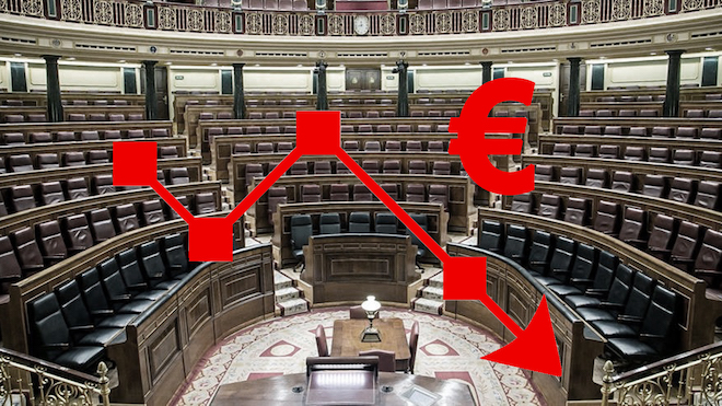 La economía española entra en recesión tras un desplome histórico del PIB.