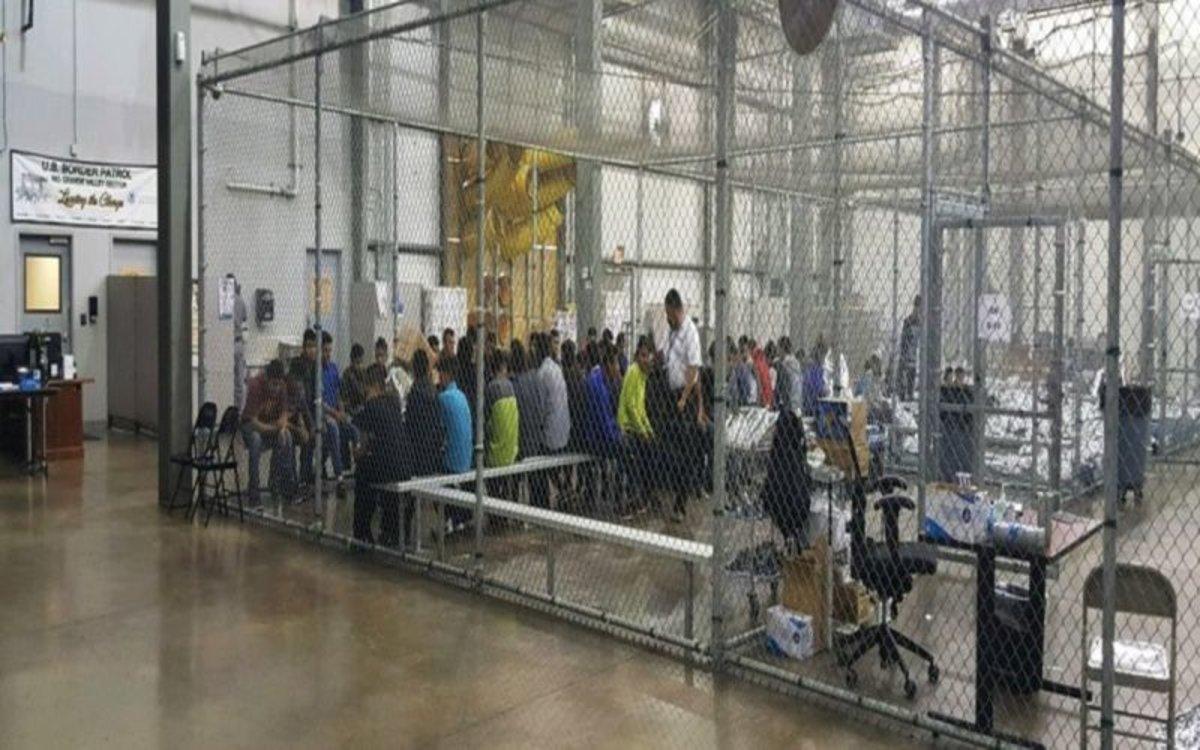 Centro de detención de inmigrantes en los EEUU.
