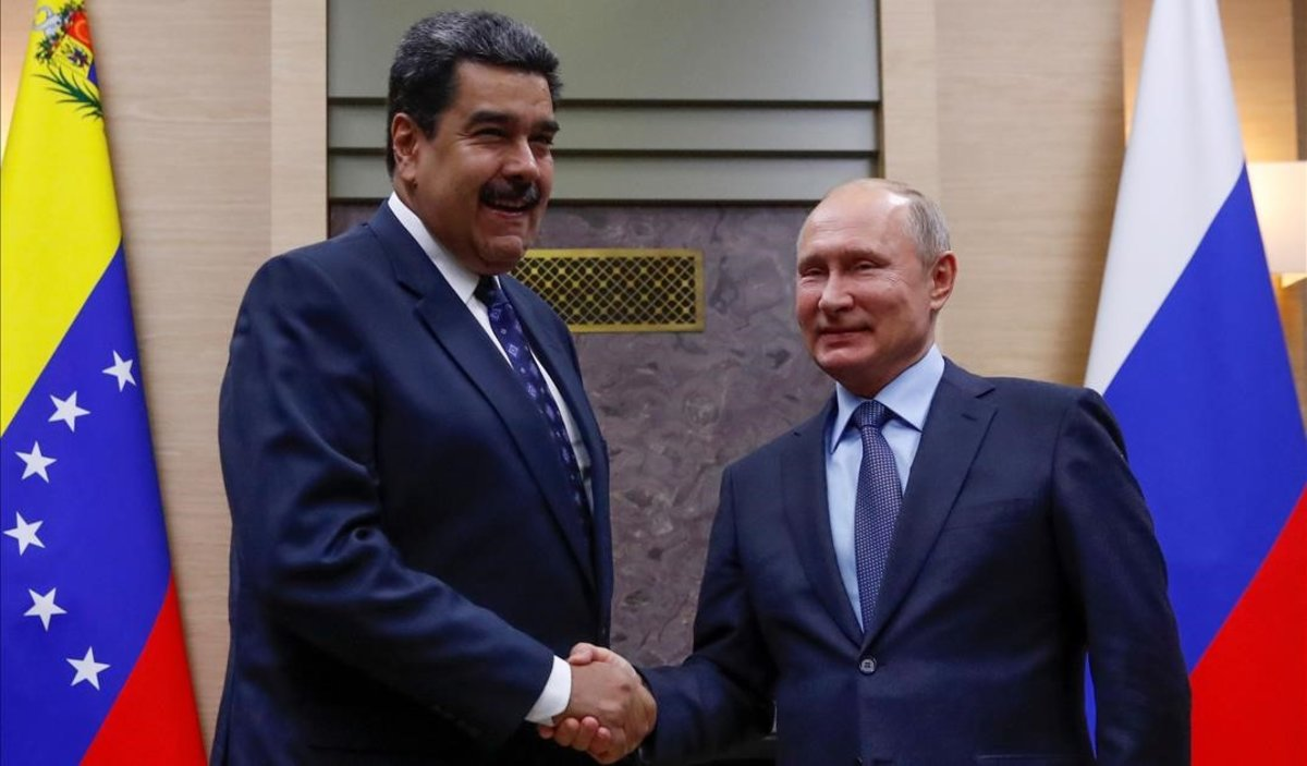 Encuentro de Putin y Nicolás Maduro, el pasado diciembre, en Moscú.