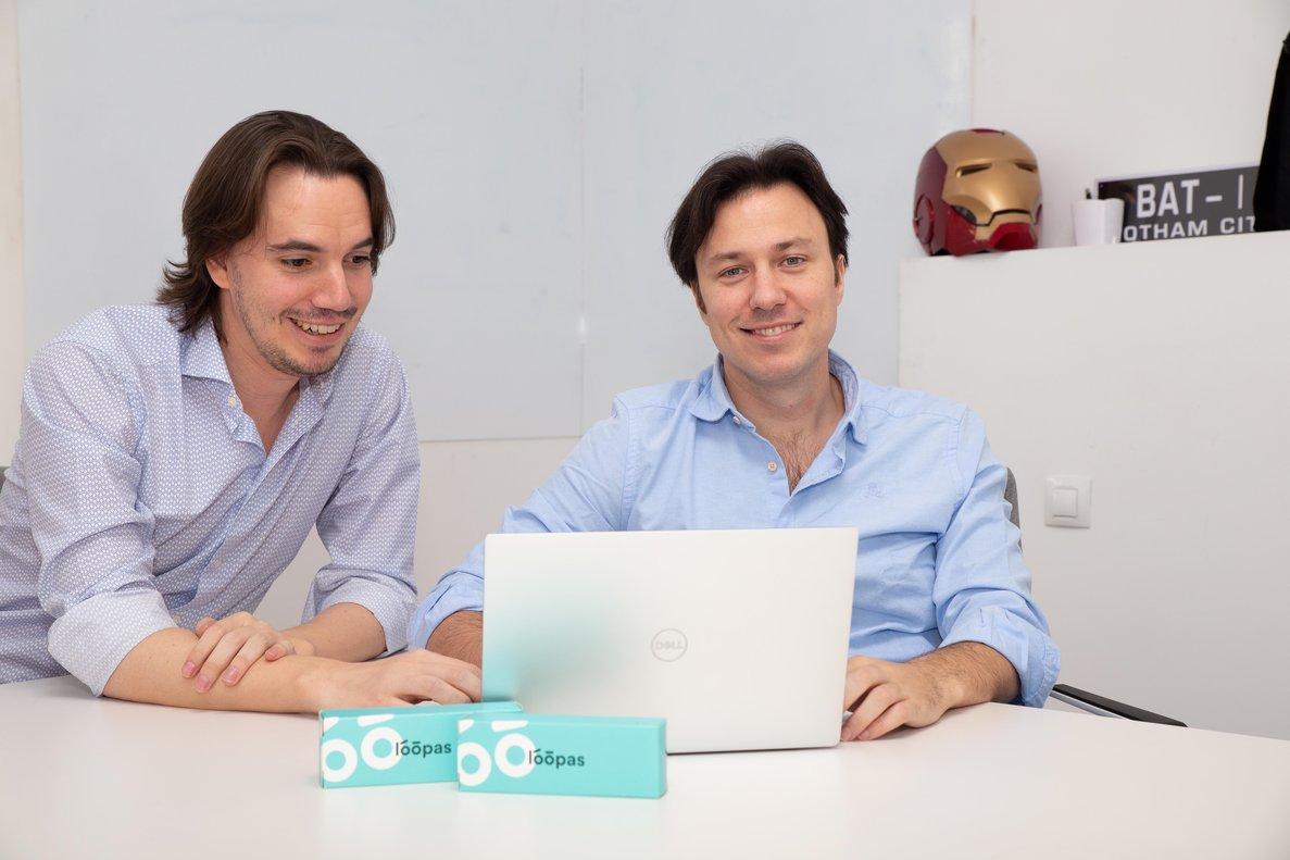Kike de Mateo y Daniel Marcos, fundadores de Neboola. //Neboola