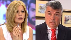 Esther Palomera y Agustín Martínez en El programa de Ana Rosa.