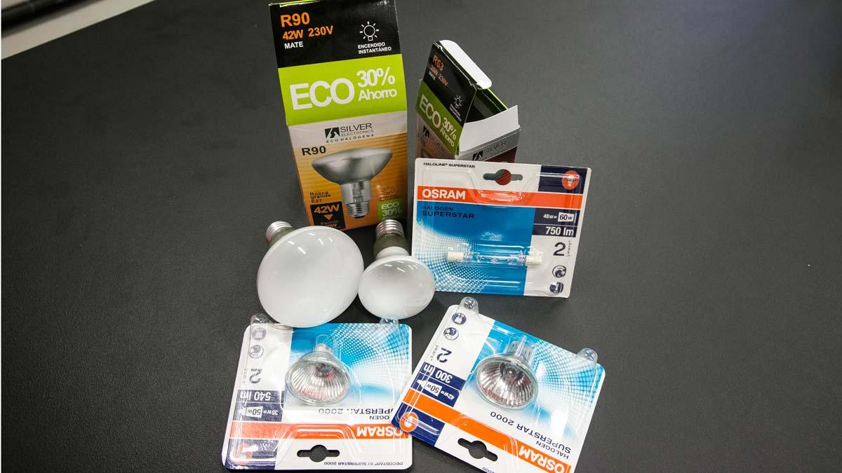 Particularidades de la prohibición de las bombillas halógenas, vigente a partir del 1 de setiembre