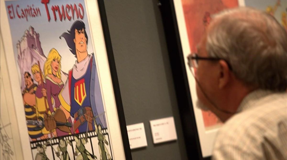 Exposición 'Capitán Trueno. Tras los pasos del héroe'.