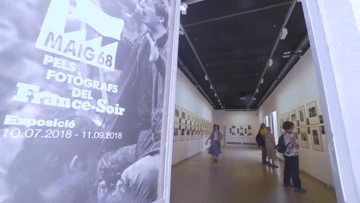 Exposición en el Palau Robert de fotos de mayo del 68