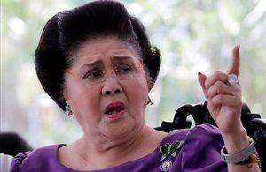La exprimera dama filipina Imelda Marcos.