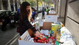 El Gran Recapte comença aquest divendres la recollida d'aliments a 370 municipis