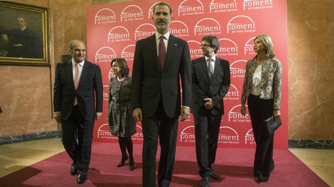 El presidente de la Generalitat acusa al Estado de ser negligente con Cataluña.