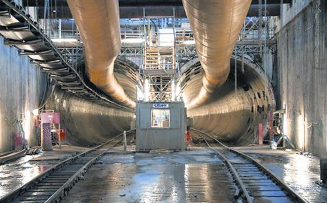 Ferrovial está construyendo un túnel para el Metro de Londres.