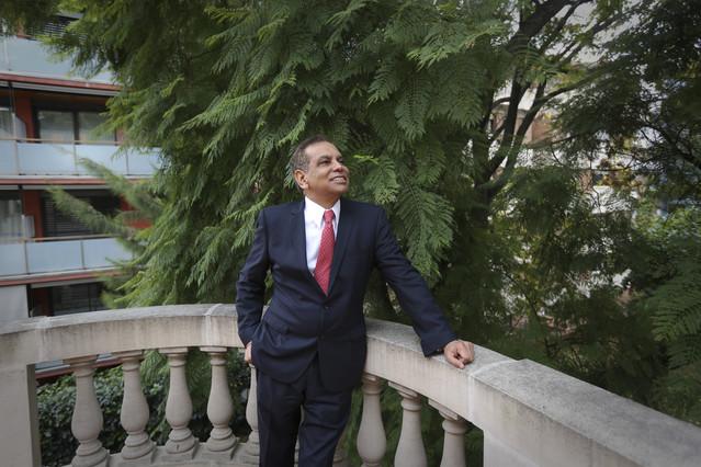 El nuevo cónsul de México en Barcelona, Fidel Herrera.
