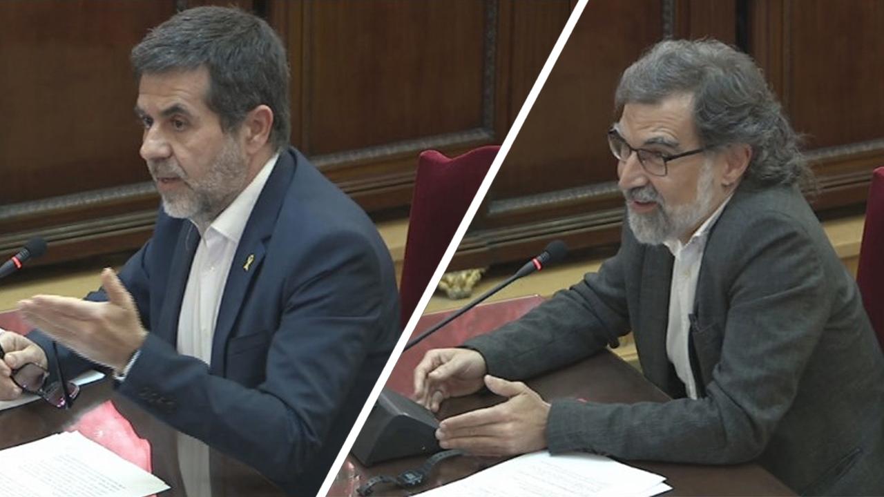 Final del juicio del procés. Última palabra para Jordi Sánchez y Jordi Cuixart.