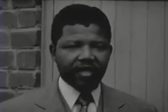Fragmento de la supuesta primera entrevista con Nelson Mandela en enero del 1961.