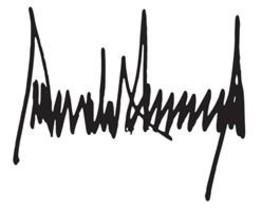 ¿Què diu la firma de Donald Trump sobre la seva personalitat?