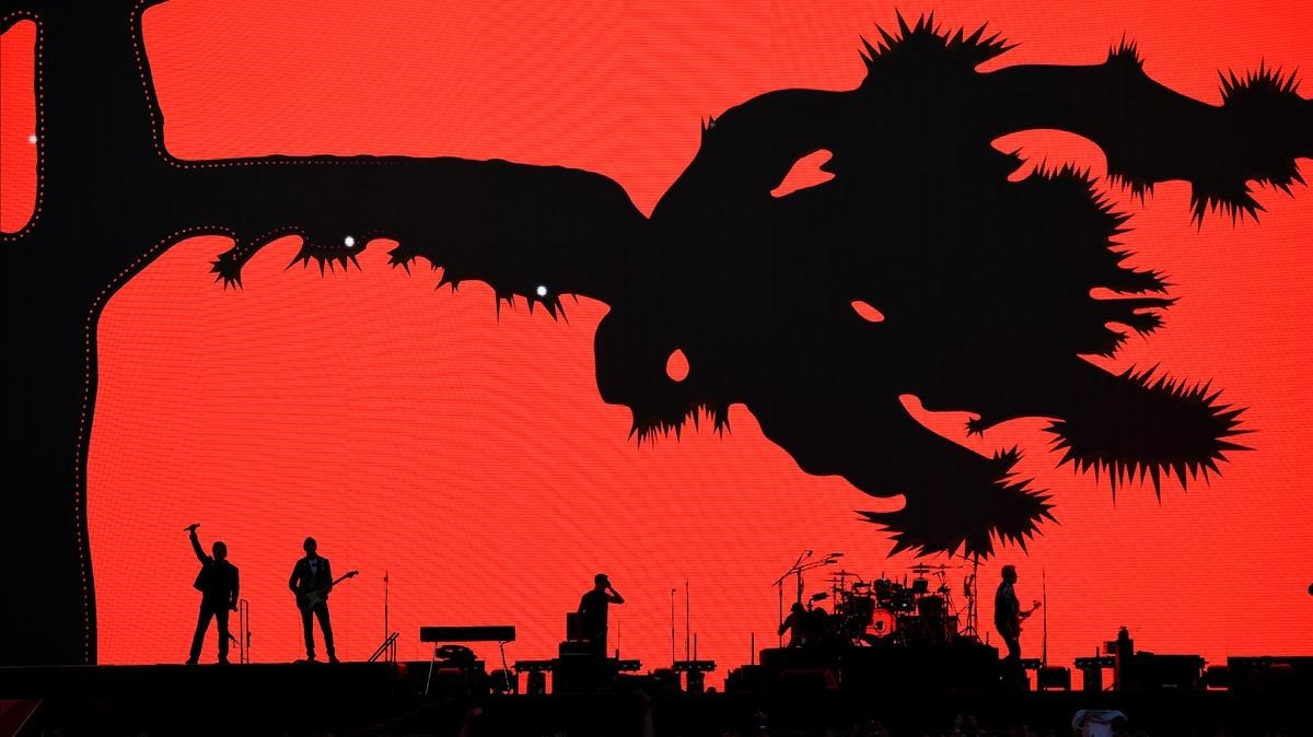 Gira de The Joshua Tree- U2 en Londres.