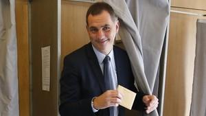 Guilles Simeoni, candidato nacionalista corso.