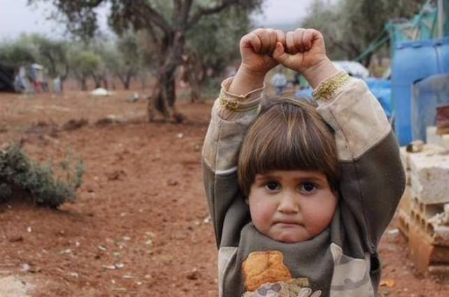 La imagen fue tomada en el inicio de la guerra civil en Siria.