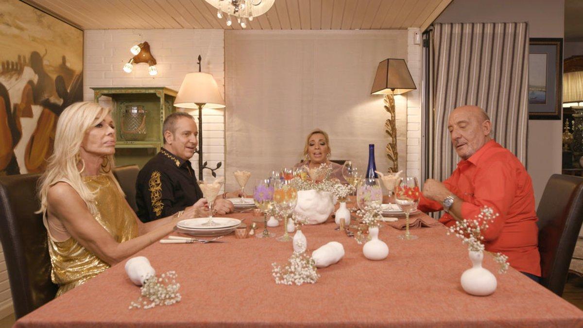 Imagen de la última cena de 'Ven a cenar conmigo: Gourmet edition'.