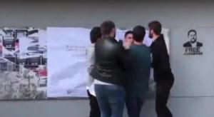 Incidente entre jóvenes independentistas y jóvenes de SCC en la UAB.